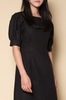 OLIVIA NZ Store online | Estella Linen Dress / Black |