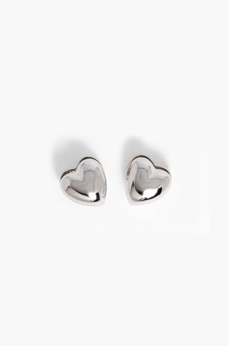 Love Love Earrings / Silver