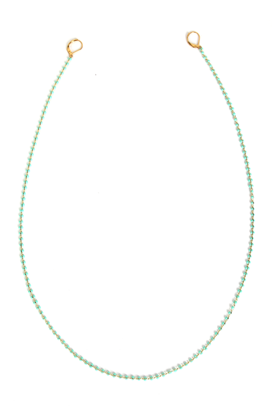 OLIVIA NZ Store online | Gia Mask Chain / Green