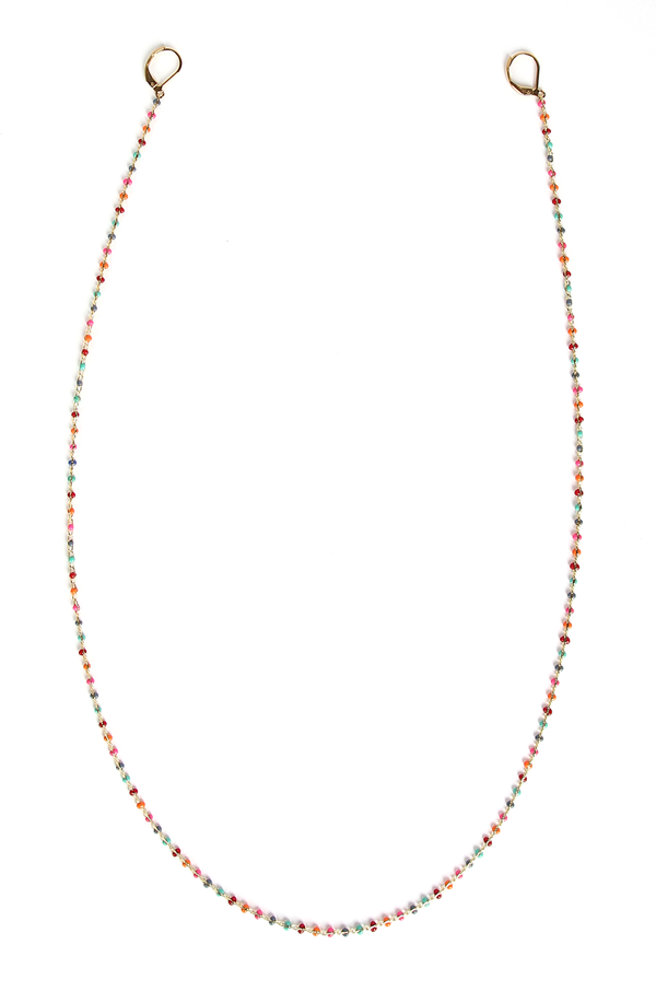 Gia Mask Chain / Multi Red