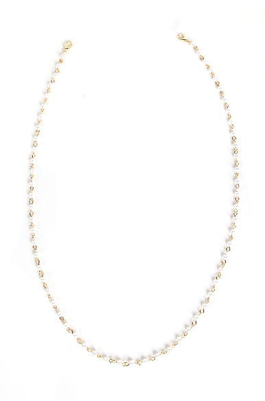 OLIVIA NZ Store online | Angel Pearl Mask Chain / Gold