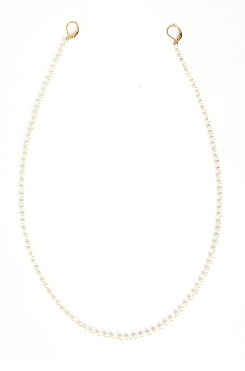 Willa Pearl Mask Chain