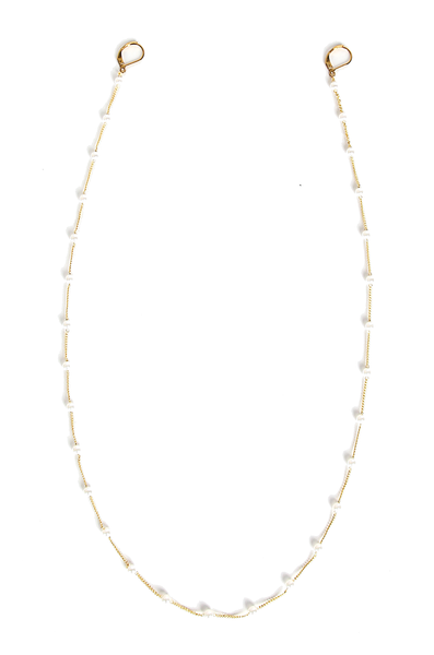 OLIVIA NZ Store online | Annabella Pearl Mask Chain