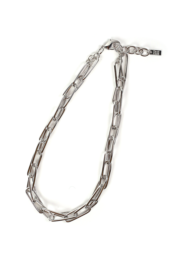 Macie Chain Necklace / Silver