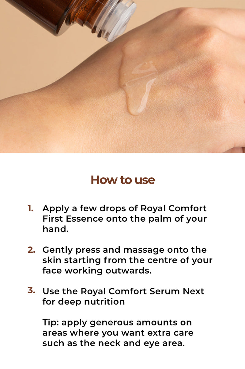 Royal Comfort First Essence - OLIVIA NZ