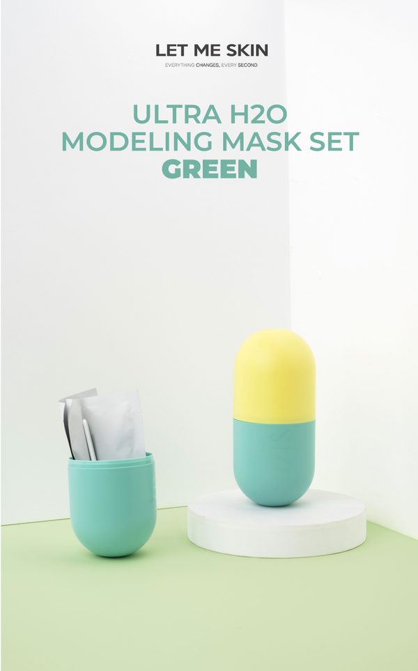 Ultra H2O Modeling Mask Set / Green - OLIVIA NZ