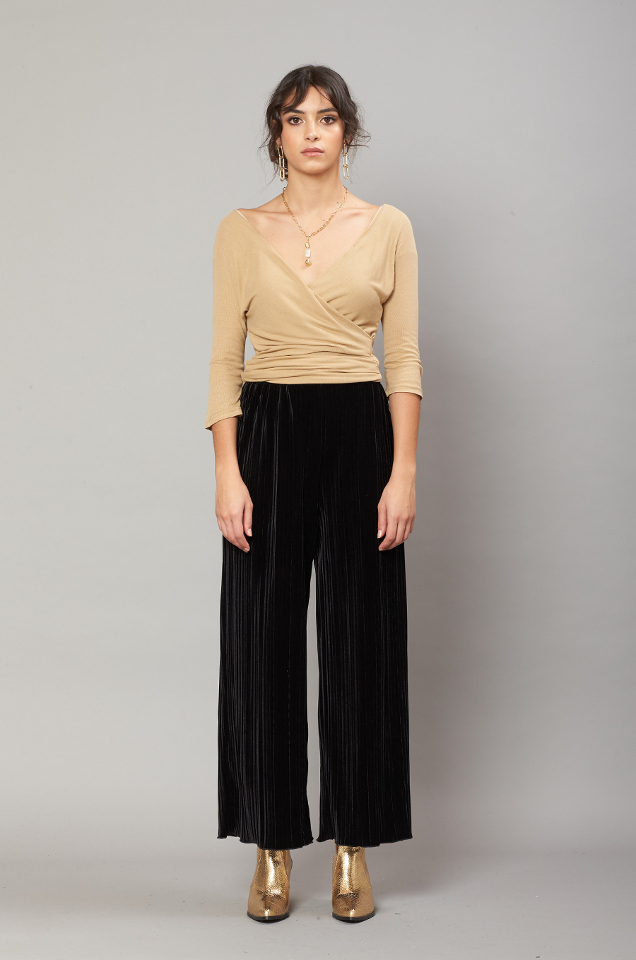 OLIVIA NZ Store online | Love Velvet Pants / Black