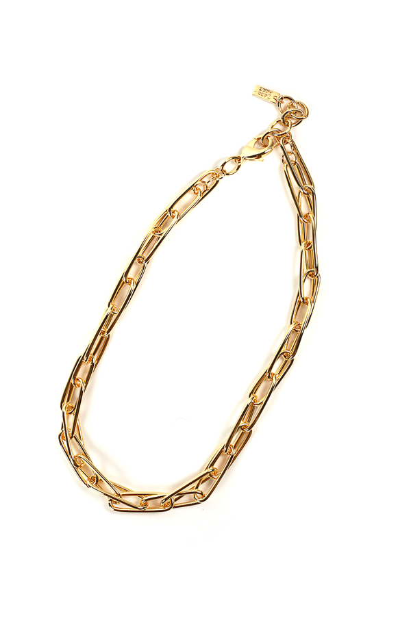 Macie Chain Necklace / Gold
