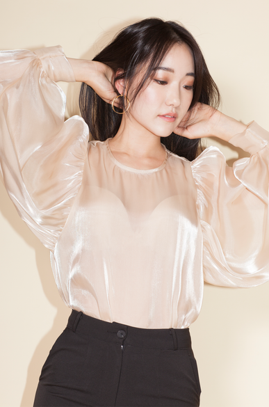 OLIVIA NZ Store online | Moonlight Blouse / Beige