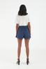 OLIVIA NZ Store online | Valentina Belted Shorts / Navy |