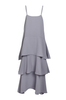 OLIVIA NZ Store online | Paris Ruffle Slip Dress / Grey |