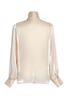 OLIVIA NZ Store online | Rendezvous Bow Blouse / Beige |