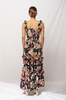 OLIVIA NZ Store online | Rose Smoke Maxi Dress / Navy |