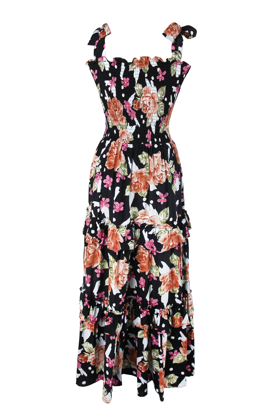 OLIVIA NZ Store online | Rose Smoke Maxi Dress / Navy