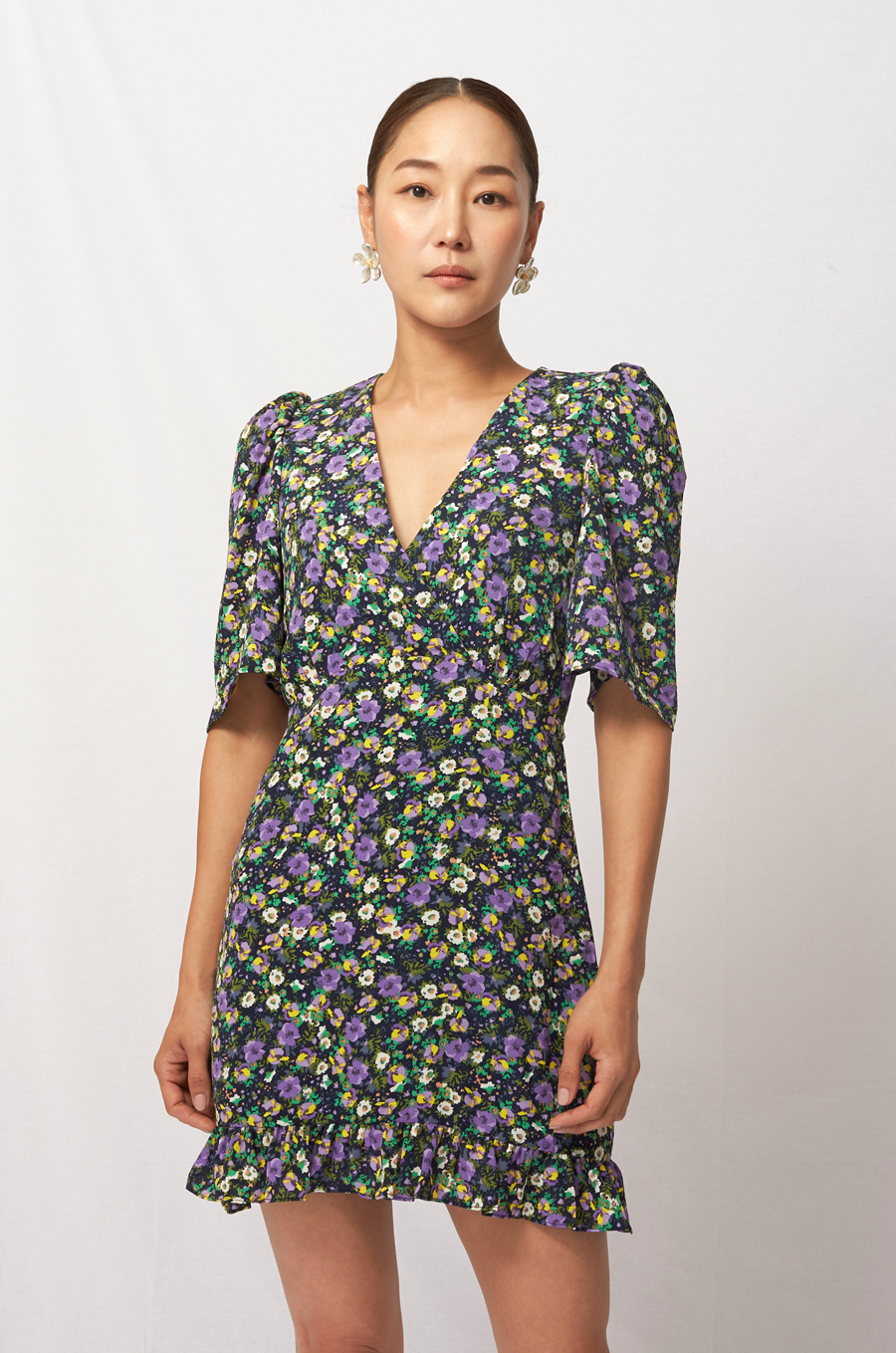 OLIVIA NZ Store online | Sakura Mini Dress / Navy