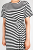 OLIVIA NZ Store online | Sasha Striped Dress / Black |