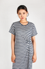 OLIVIA NZ Store online | Sasha Striped Dress / Navy |