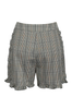 OLIVIA NZ Store online | Sweetheart Checked Shorts / Sage Green |