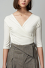 OLIVIA NZ Store online | Sweetie Wrap Top / Cream |