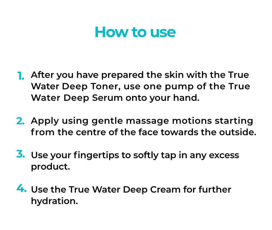 OLIVIA NZ Store online | True Water Deep Serum