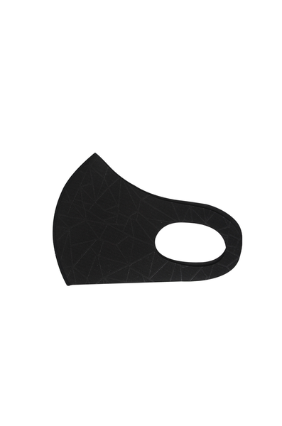 OLIVIA NZ Store online | Geometric Neoprene Face Mask / Black |