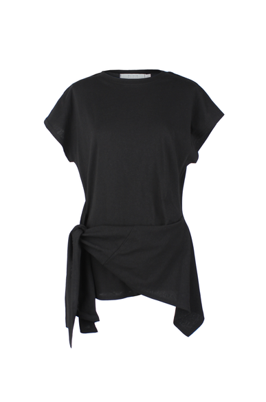 OLIVIA NZ Store online | Mabel Tie Top / Black - OLIVIA NZ