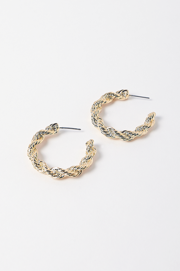 Marcus Hoop Earrings / Medium