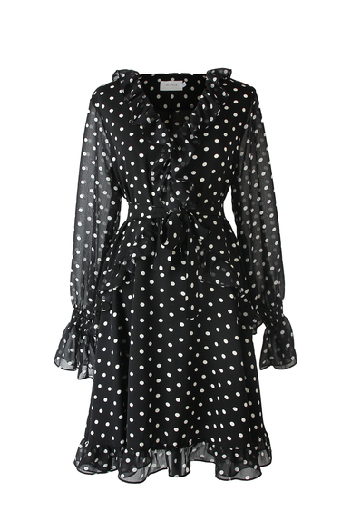 OLIVIA NZ Store online | Hanna Polka Dress - OLIVIA NZ