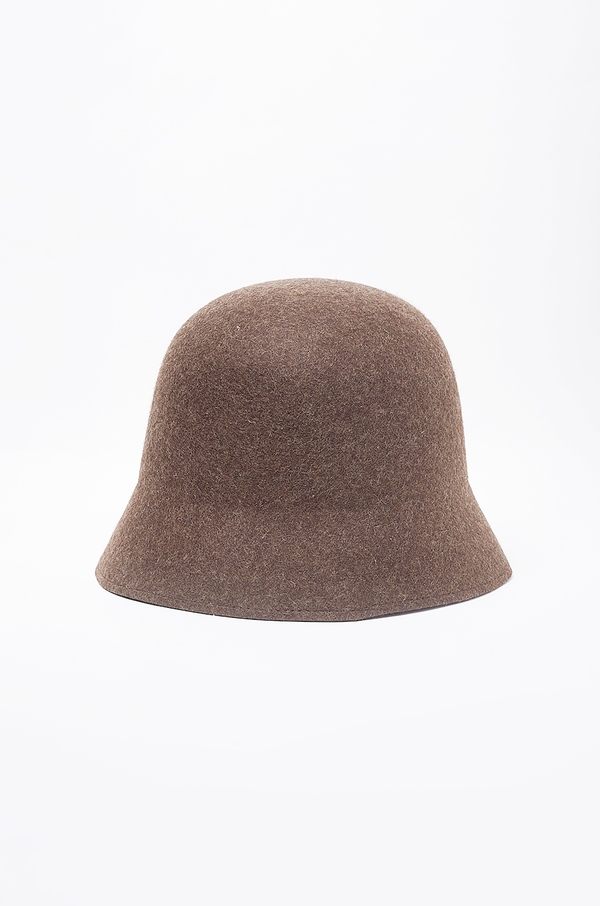 WOOL BUCKET HAT / BROWN