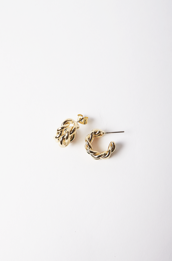 Aya Mini Hoop Earrings