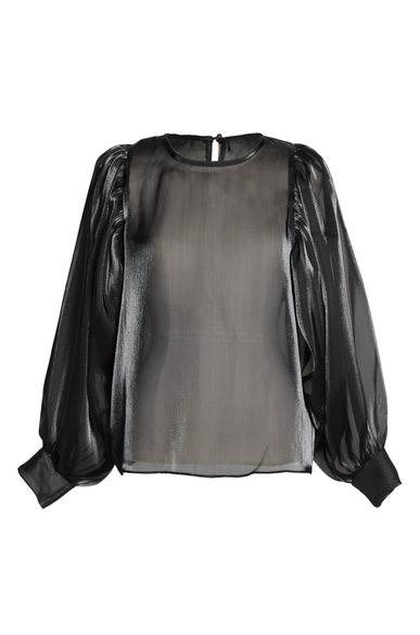 OLIVIA NZ Store online | Moonlight Blouse / Black - olivianzstore