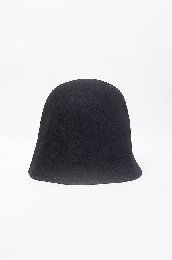 WOOL BUCKET HAT / BLACK