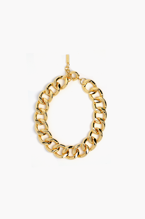 Chunky Chain Necklace / Gold