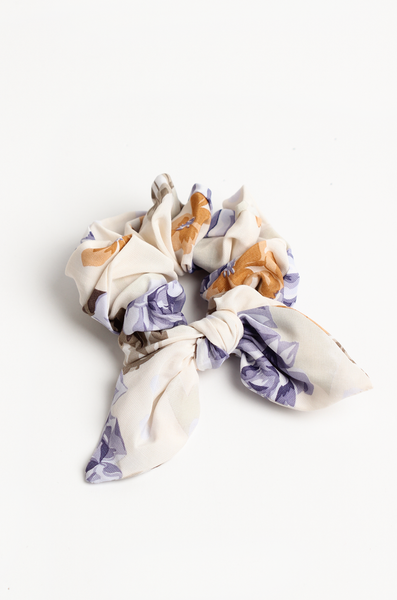 OLIVIA NZ Store online | Rose Scrunchie / Cream |