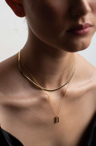 OLIVIA NZ Store online | Addicted Necklace / Gold