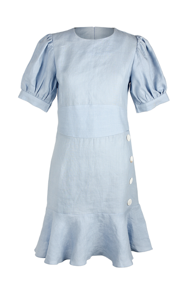 OLIVIA NZ Store online | Lolita Linen Dress / Shell - OLIVIA NZ