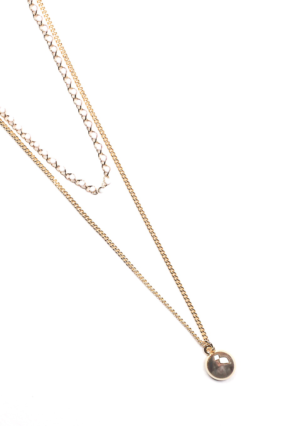 OLIVIA NZ Store online | Mallory Layered Necklaces / Cream