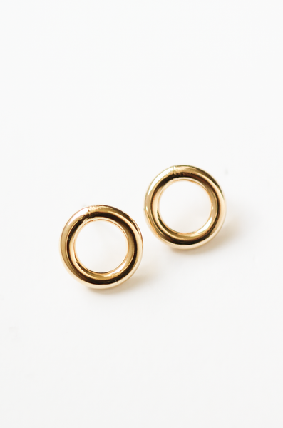 OLIVIA NZ Store online | Margot Stud Earrings / Gold |