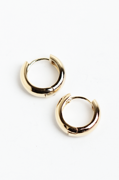 OLIVIA NZ Store online | Emerson Hoop Earrings / Gold