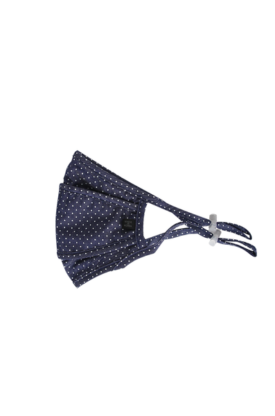 OLIVIA NZ Store online | Cotton Face Mask / Dot Navy |