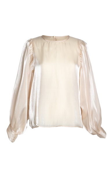 OLIVIA NZ Store online | Moonlight Blouse / Beige - OLIVIA NZ