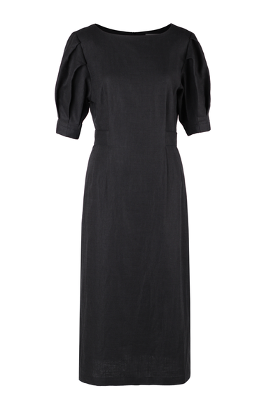 OLIVIA NZ Store online | Estella Linen Dress / Black - OLIVIA NZ
