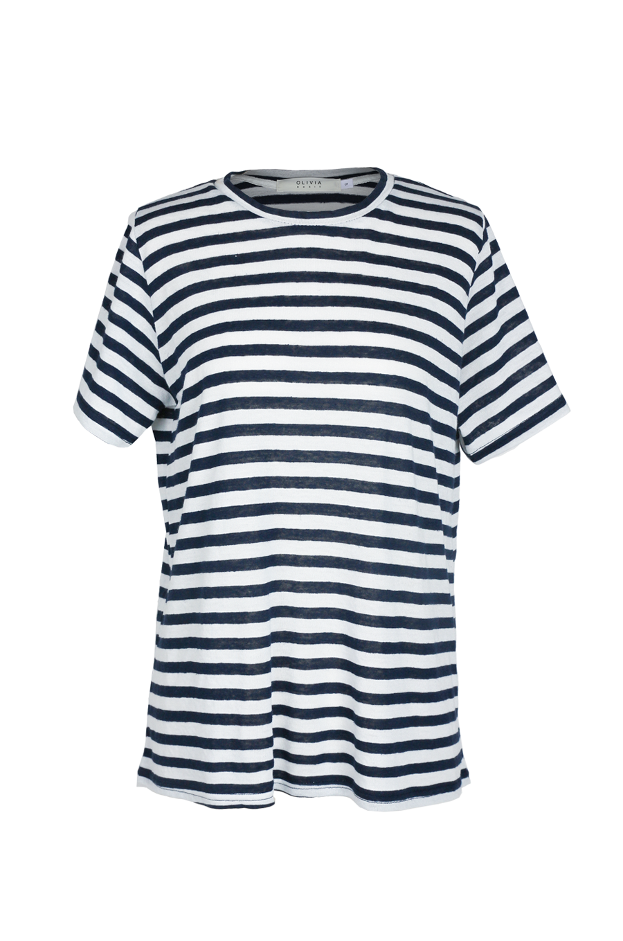 OLIVIA NZ Store online | Sasha Stripe Top / Navy