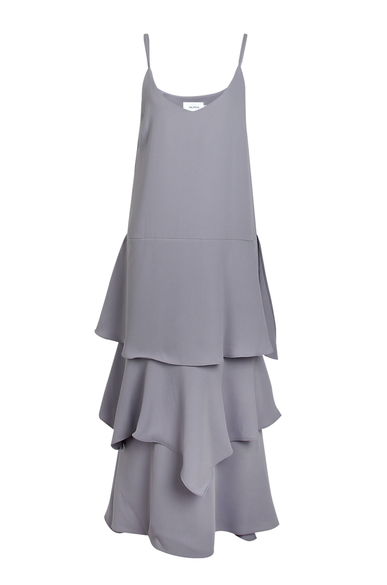 OLIVIA NZ Store online | Paris Ruffle Slip Dress / Grey