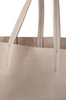 OLIVIA NZ Store online | Joy Leather Shopper Bag / Taupe |