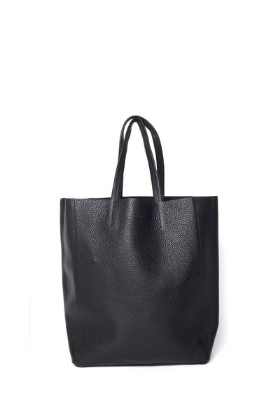 OLIVIA NZ Store online | Joy Leather Shopper Bag / Black |