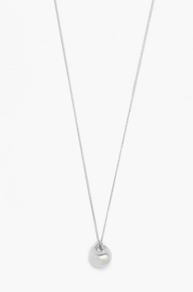OLIVIA NZ Store online | Money Bag Necklace / Silver