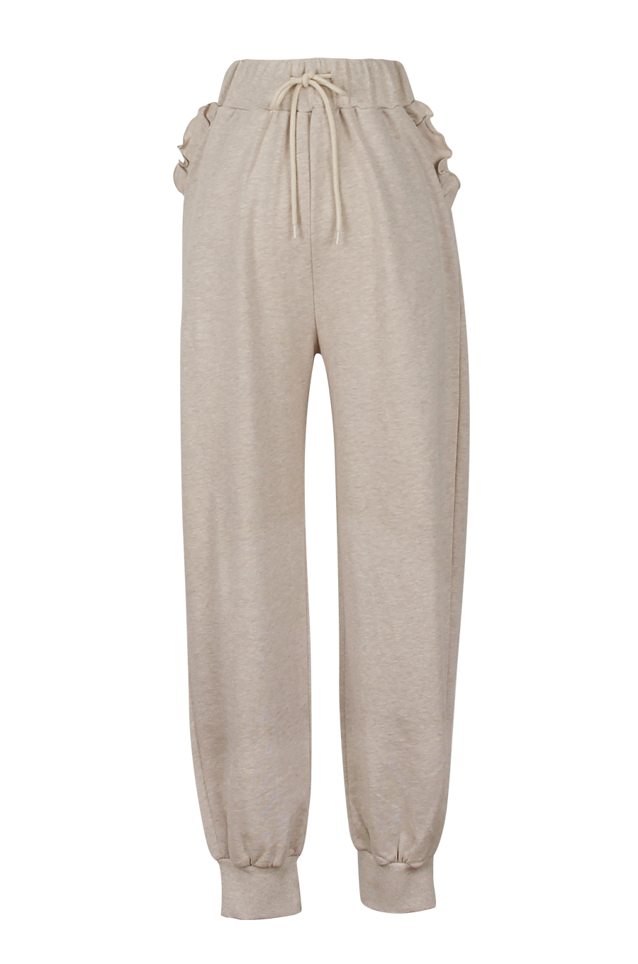 OLIVIA NZ Store online | Buttercup Frill Sweatpants / Oatmeal