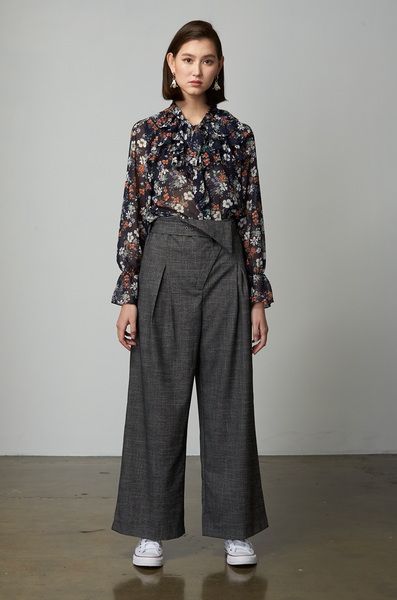 OLIVIA NZ Store online | Precious Belted Pants / Grey