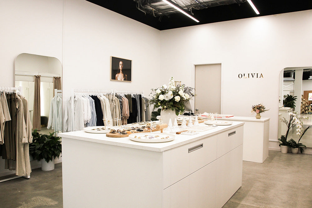 OLIVIA Westfield Popup Store Image